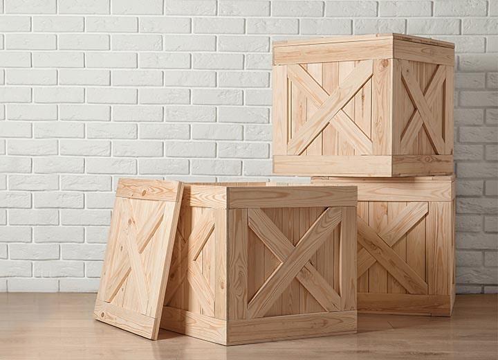 custom crates to protect artwork